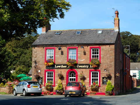 the lowther arms country inn website about us